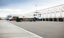 The handling solutions provided by TII subsidiary, KAMAG, ensure very efficient yard logistics.