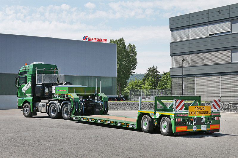 The EuroCompact FL02 for heavy transport specialist Kübler.