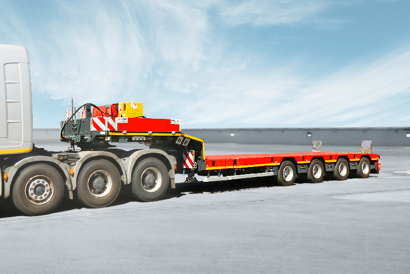 The SCHEUERLE Euro Axle is maintenance-free and ensures extremely low tyre wear